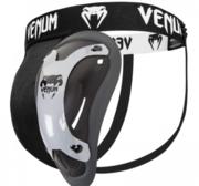 Venum Competitor Groinguard, Svart/Silver