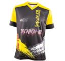 T-Shirt Storm TOPTEN ITF, Svart/Gul