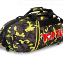 Topten Bag/Backpack, Camouflage Black/Brown/Yellow Large