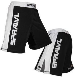 Sprawl shorts Grip-Flex XT BLACK/WHITE