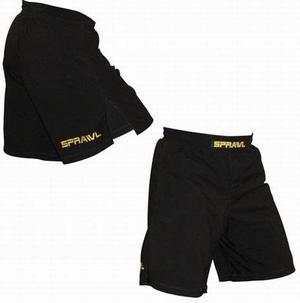 Sprawl shorts V-Flex Standard  Svart Small logo, 200 cm (38)