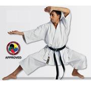 WKF Hayashi Tenno Karate Kata Pants White, 150 cm