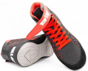Topten sko Short Cut Svart/Röd