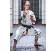 WKF Hayashi Katamori Karate Kata GI White