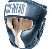 Tuf-Wear Protect Headguard Leather, Black