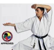 WKF Hayashi Tenno Karate Kata Jacket White, 160 cm