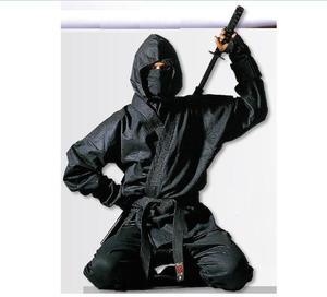 Hayashi Ninja Dräkt Svart, 160 cm