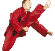 Hayashi Kirin Karate Gi Röd