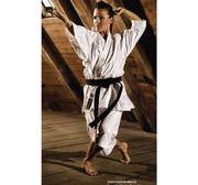 WKF Hayashi Tenno Karate Kata GI White