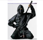 Hayashi Ninja Suit Black, 130-200 cm