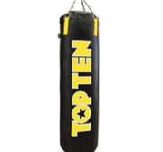 Topten Punch Bag Filled Black/Yellow