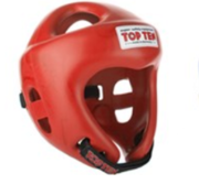 Topten Head guard  Fight Red