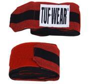 Tuf-Wear Handlinda Elastisk Svart/Röd 3,5m