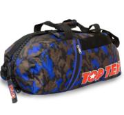 Topten Bag/Backpack, Camouflage Black/Brown/Blue Large