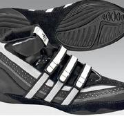 Adidas Extereo Wrestlingshoe Black/White Junior, 27