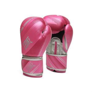 Leone Boxhandske Blitz , Rosa/Silver 10-16 oz