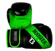 Booster Boxglove Sparring, Black/Green stripe 12-14 oz