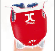 JCalicu Chestprotector Premium with shoulderguard Reversible, WTF approved