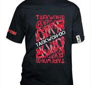 Topten T-shirt ITF Taekwon-Do Svart