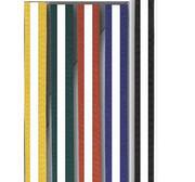 Moon belt coloured/white stripe 4 - 4,5 cm 230 cm