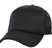 Black Hill Texas Cap, Black 58 cm