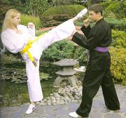 Hayashi Osaka Deluxe Karate Jacka Vit, 10 oz, 180 cm