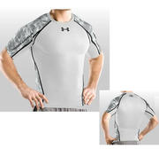 Under Armour Rashguard Battle SS Tee, Grey
