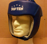 Topten Head guard  Leather