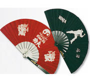 Kung-fu Steel Fan Red