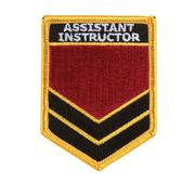 Embridered Patch, Assistant Instructor