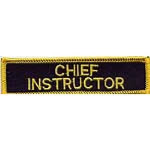 Broderat Märke, Chief Instructor