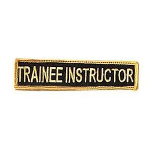 Broderat Märke, Trainee Instructor