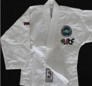 Kyong ITF TKD jacket, White Demoex 170 cm