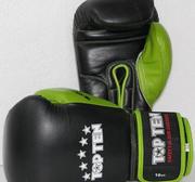 Topten Boxhandske Giant Svart/Grön 10-16 oz