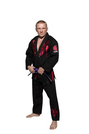 "Brazilian Jiu-Jitsu dräkt TOP TEN ""Samurai"", Svart"