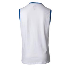 Topten Sleeveless T-Shirt WAKO för tävling, Vit